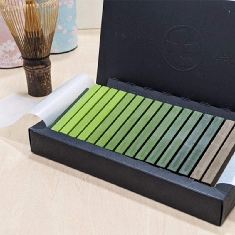 日本 丸七製茶 7級濃度 抹茶朱古力 夢幻粉彩禮盒 1盒16條【市集世界 - 日本市集】