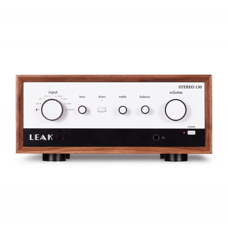 LEAK STEREO 130 合併式擴音機 + USB-DAC (胡桃木色)