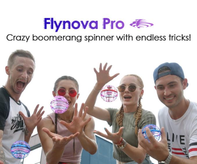 Flynova PRO 反重力魔法球【3色】