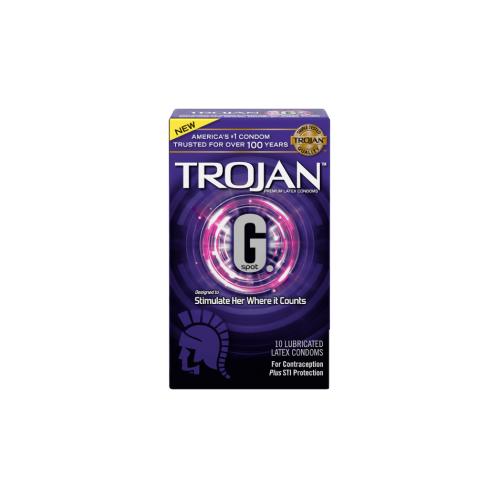 Trojan 戰神G.Spot 10 片裝 乳膠安全套