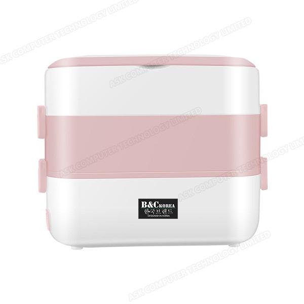 B&C 便攜插電加熱保溫電熱飯盒