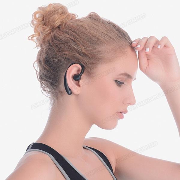 韓國B&C單耳立體聲骨傳導無線藍牙運動耳機 不入耳無痛配戴