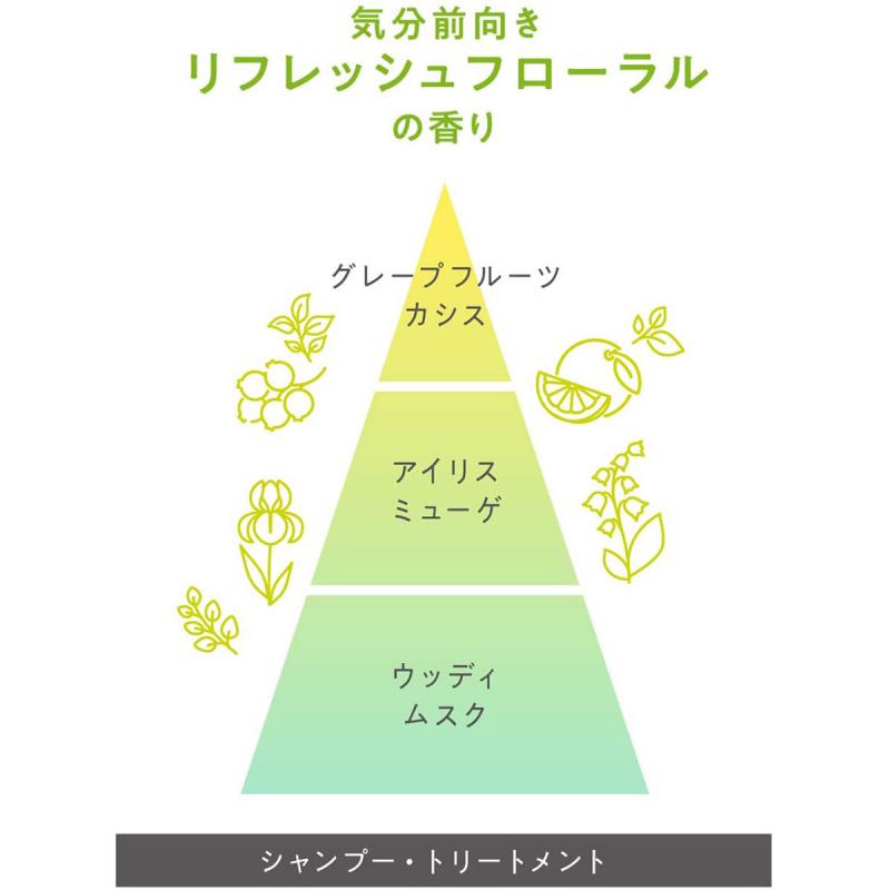 日版 花王Kao Essential 垂順保濕洗髪水 500ml【市集世界 - 日本市集】