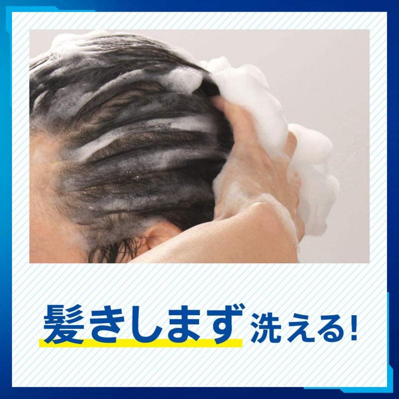 日版 花王Kao Success 控油藥用 柔順冰感配方防脫髮洗髪水400ml