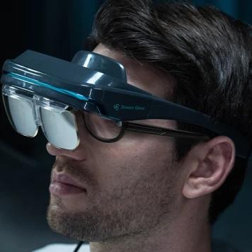 Dream Glass 4k 攜帶式 AR 智慧眼鏡