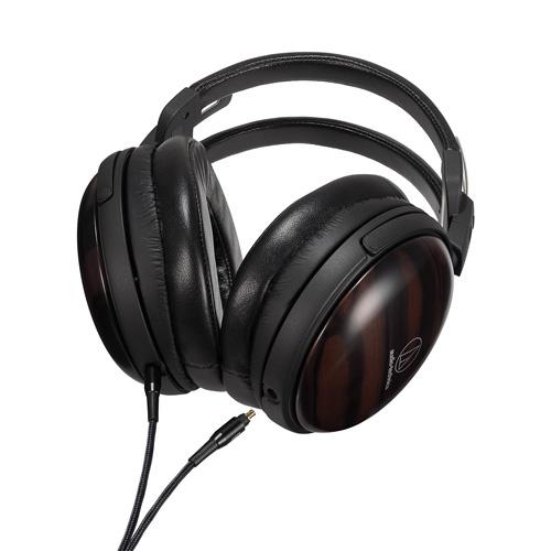 【稀有少量】Audio Technica ATH-AWKT 黑檀木制動圈耳筒