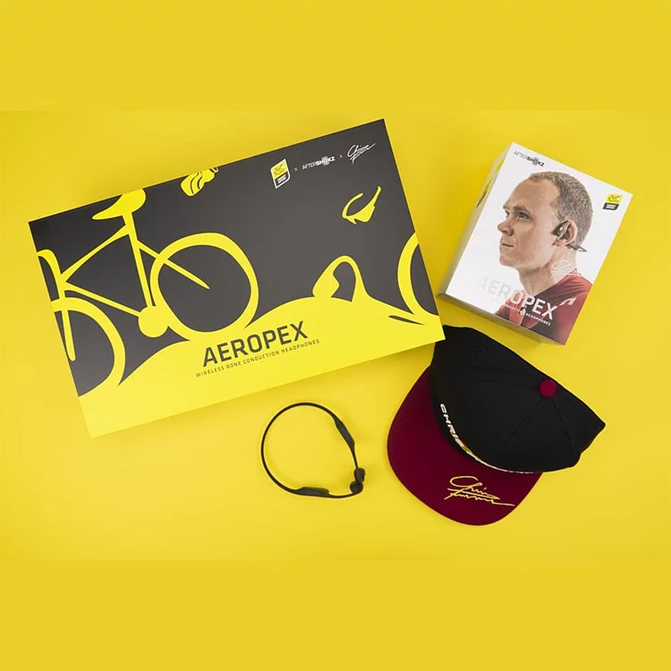 AfterShokz × Tour de France 環法限量版 Aeropex AS800 聯乘套裝