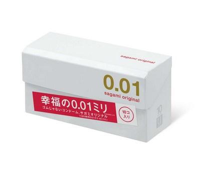 Sagami相模 原創 0.01 10 片裝 PU 安全套