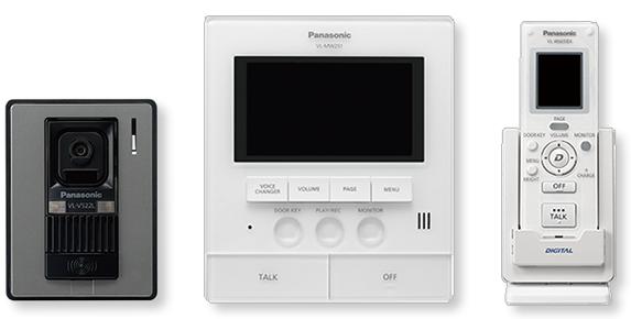 樂聲牌 Panasonic - VL-SW251 視像對講系統 (包括無線監察器子機) Video Intercom with Wireless handset