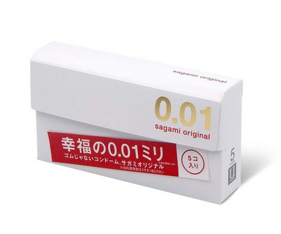 Sagami相模 原創 0.01 5 片裝 PU 安全套