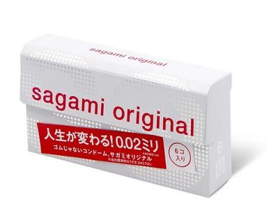 Sagami相模 原創 0.02 (第二代) 6 片裝 PU 安全套