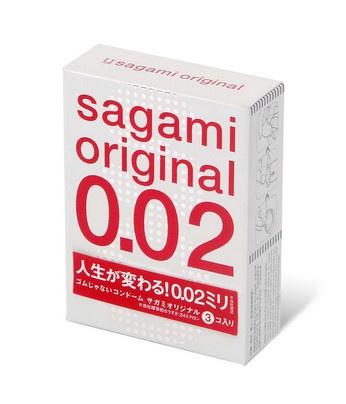 Sagami相模 原創 0.02 (第二代) 3 片裝 PU 安全套