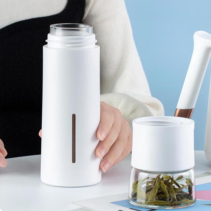 PINZTEA 茶水分離隨行杯PZ7L59X000 - 保溫杯 水杯 茶杯 玻璃杯