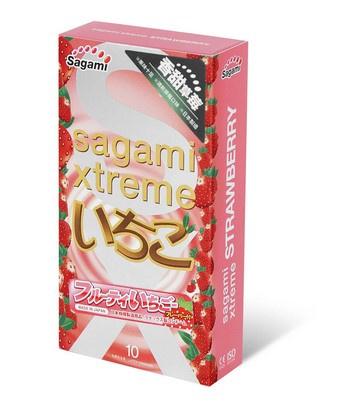 Sagami相模 究極 香甜草莓 10 片裝 乳膠安全套