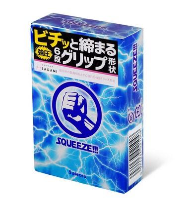Sagami 相模 六段緊第二代 5 片裝 乳膠安全套