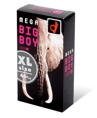 Mega Big Boy 72/60mm (日本版) 12 片裝 乳膠安全套