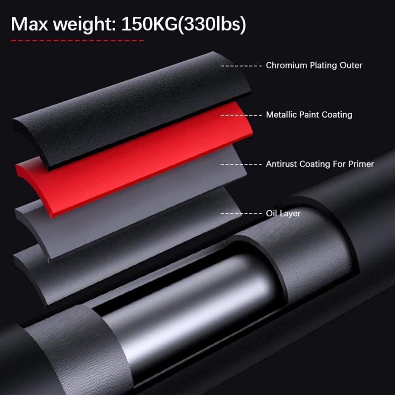 免打孔可調節家用單槓 (適合70-90cm門框)