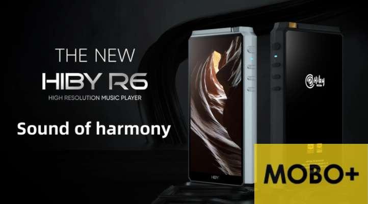 [香港行貨] Hiby New R6 Aluminium [2020新版] (Black & Sliver)