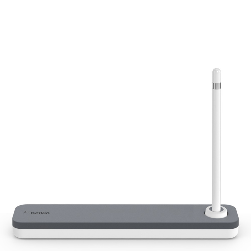 Belkin F8J206btGRY Apple Pencil 專用保護盒 + 筆座
