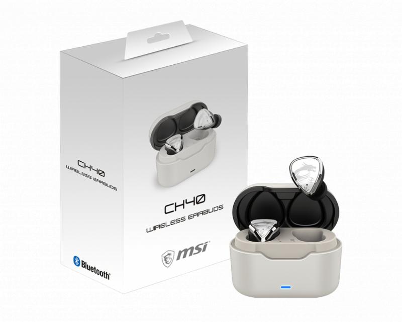 MSI CH40 真無線藍牙電競耳機