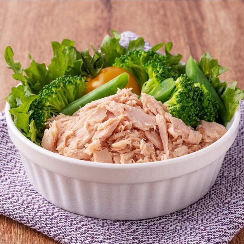 日本 伊藤食品 美味水煮金槍魚片蔬菜湯 罐頭 70g (2件裝)【市集世界 - 日本市集】