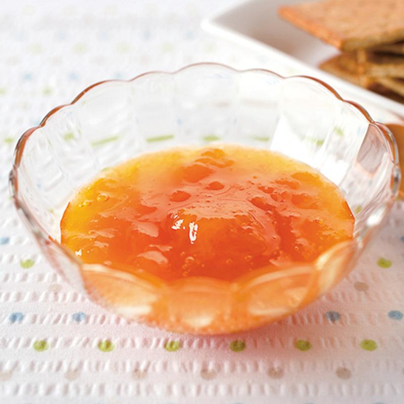 日本 明治屋 低糖果實感 杏脯果醬160g【市集世界 - 日本市集】
