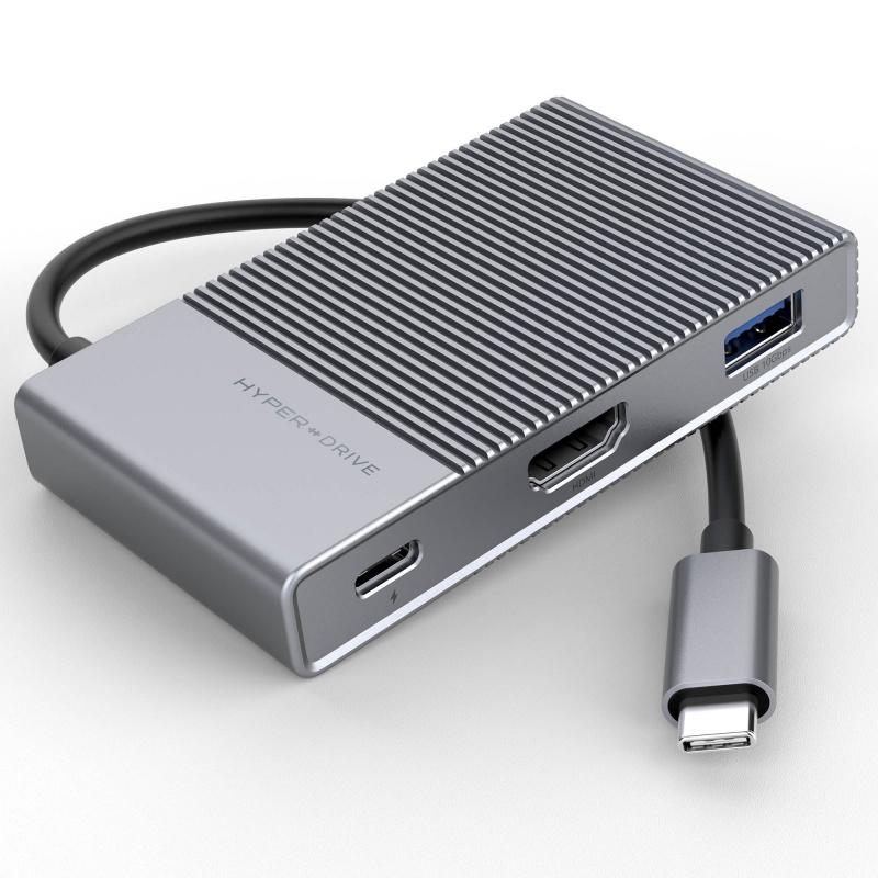 HyperDrive GEN2 6-Port USB-C 6合1 擴展器[HD-G206]