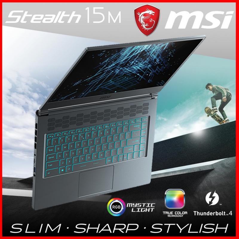 "MSI Stealth 15M A11SEK 15.6""極致纖薄電競筆電"