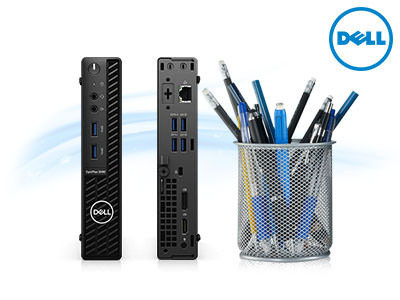 Dell OptiPlex 3080Micro 機型桌上型電腦 (i3/8GB/256)