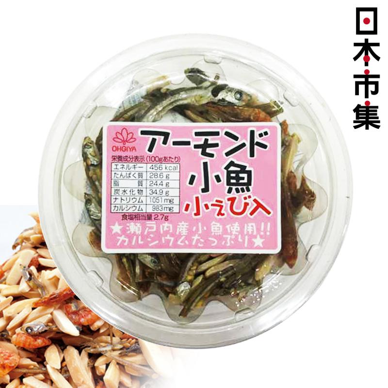 日本 扇屋食品 加鈣蝦仔杏仁魚仔 65g【市集世界 - 日本市集】