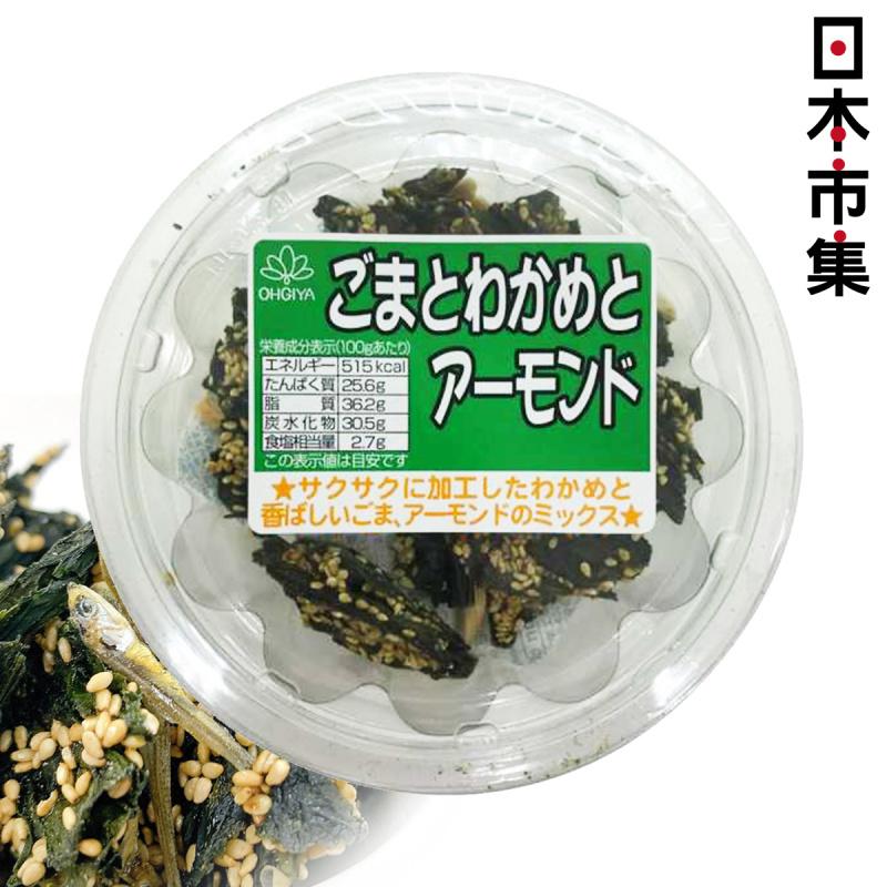 日本 扇屋食品 香脆紫菜海帶芝麻杏仁 45g【市集世界 - 日本市集】