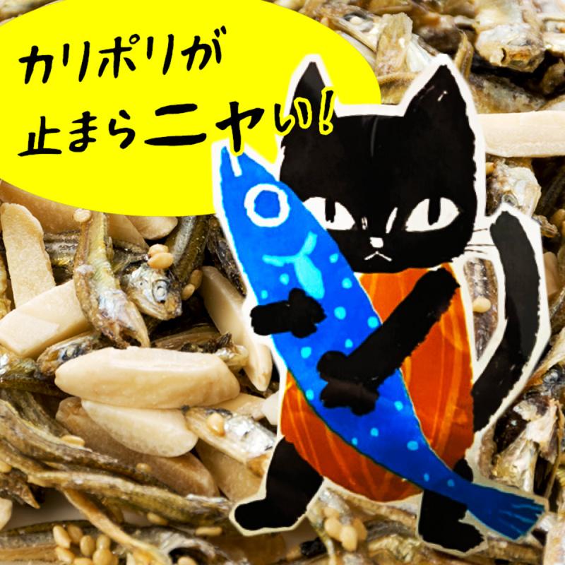 日本 扇屋食品 加鈣杏仁魚仔 23g (2件裝)【市集世界 - 日本市集】