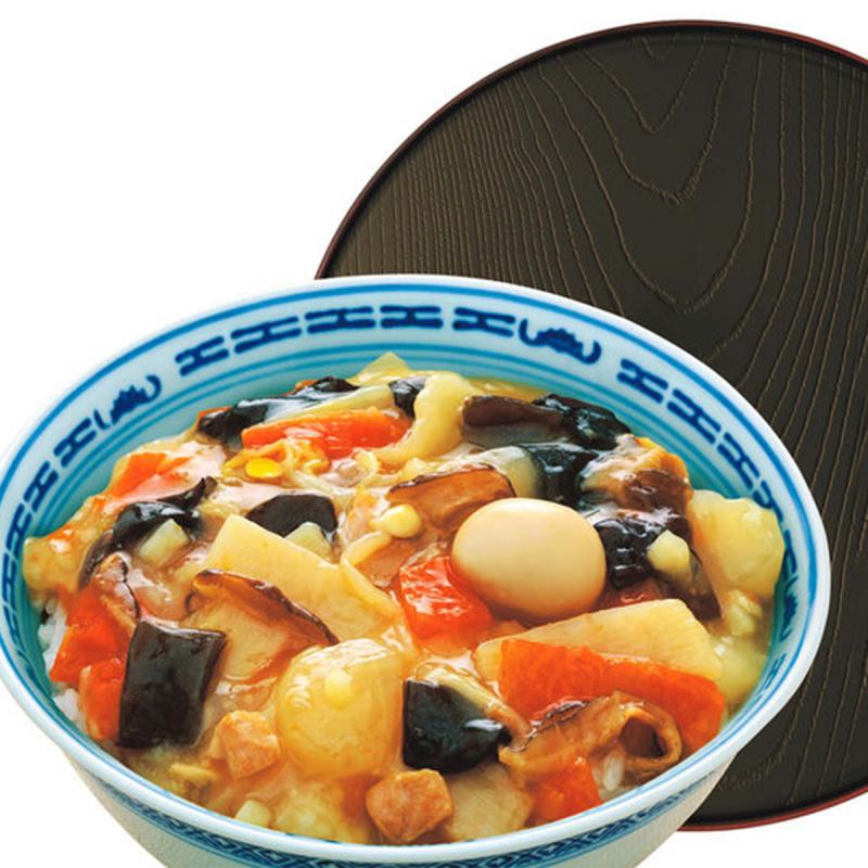 日版 マルハ 低卡5種蔬菜鵪鶉蛋中華丼 160g (2件裝)【市集世界 - 日本市集】