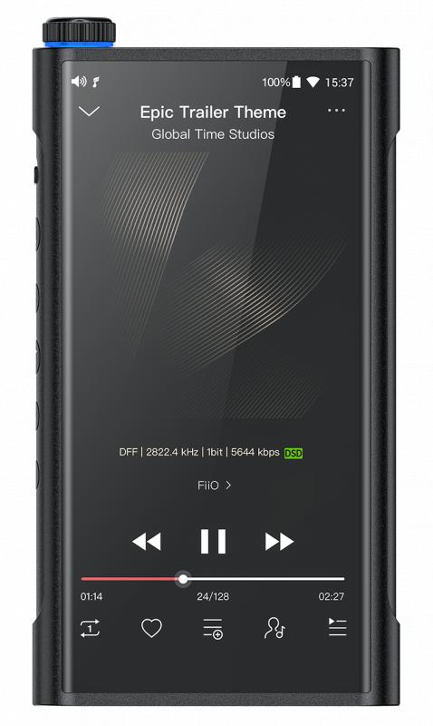 FIIO Android 高階旗艦無損音樂播放器M15