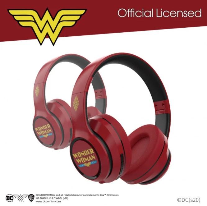 A&S 100SE 耳罩式無線藍牙耳機 正版 (神奇女俠/蝙蝠俠/超人特別版) (聖誕前限定 , 全香港免運)