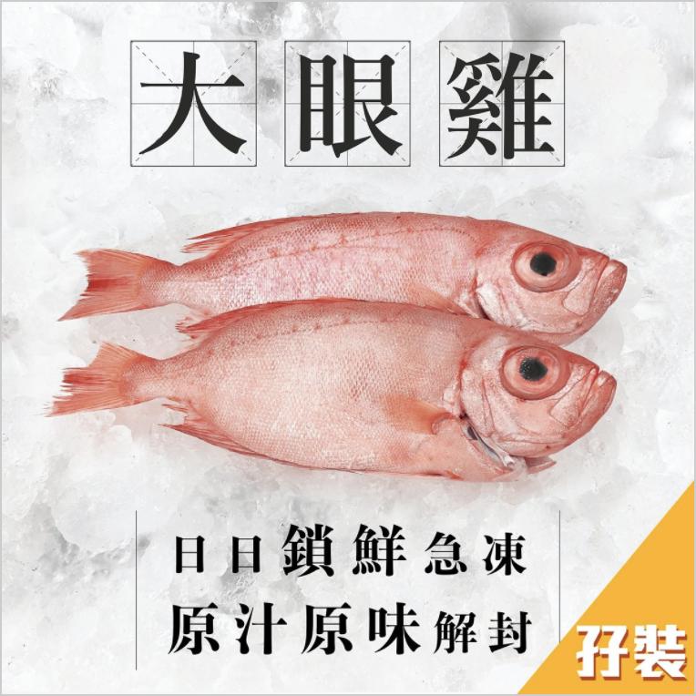 AllSeaFish - 大眼雞孖裝400g+