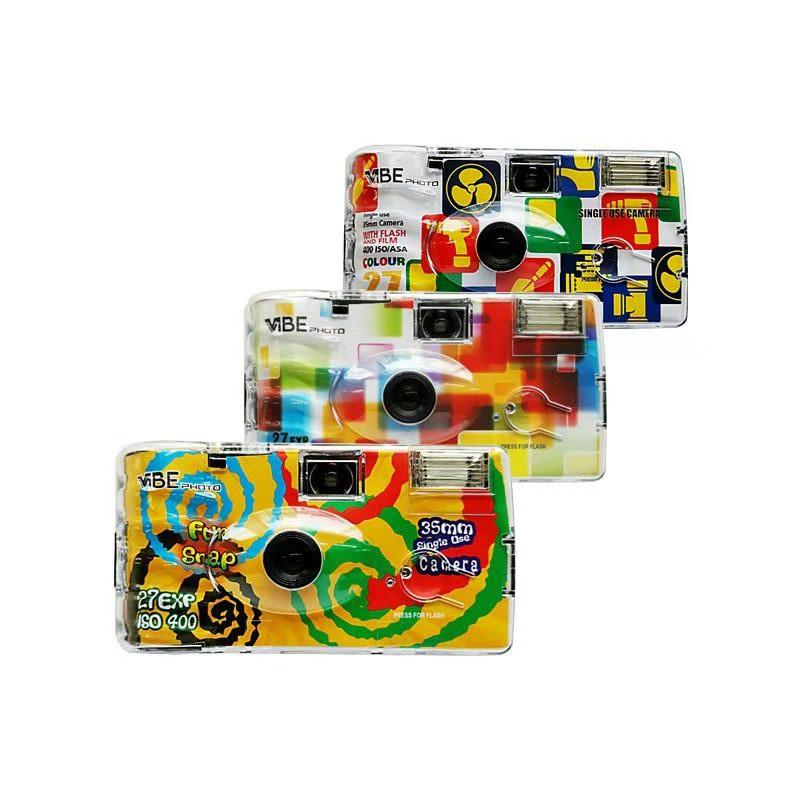 德國Vibe 彩色一次性35mm菲林相機