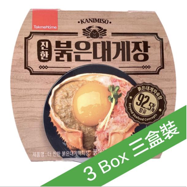Goremi - 韓國特濃即食蟹味噌(60g) (3盒裝) (急凍)