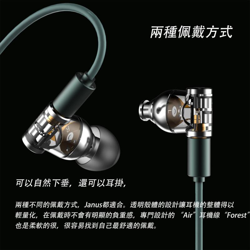 DD hifi E2020A (Janus) 【#首創雙面兩用 ~ MMCX和0.78雙針雙插座設計】