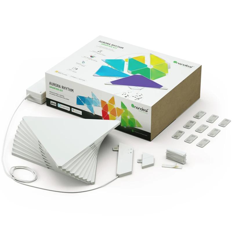 NANOLEAF SHAPES TRIANGLE 智能拼裝照明燈 SMARTER KIT (最新一代 9個三角形燈板 PANELS)