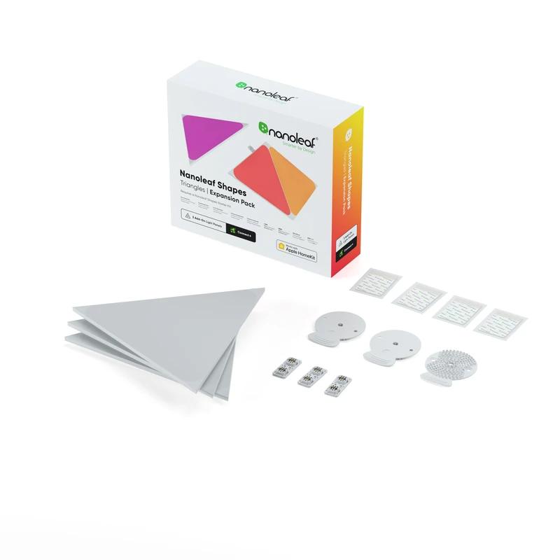 NANOLEAF SHAPES TRIANGLE 智能拼裝照明燈擴充版 EXPANSION PACK (3個三角形燈板)