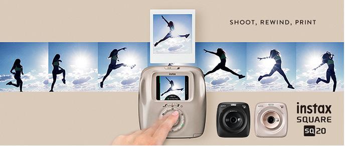 Fujifilm Instax 富士即影即有 SQUARE SQ20