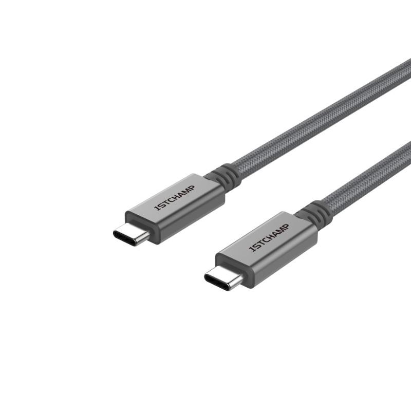 First Champion USB 3.2 USB Type-C 至 Type-C 充電傳輸線 100cm