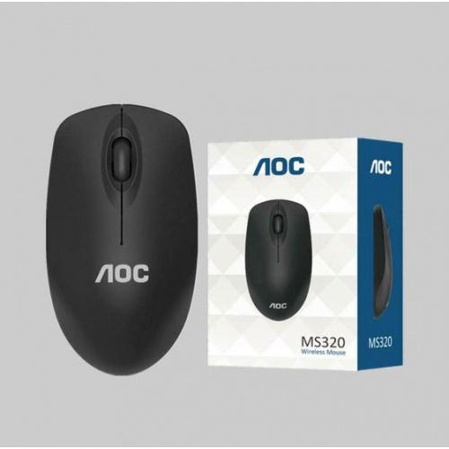 AOC 2.4G 無線滑鼠 (MS-320) [黑色]