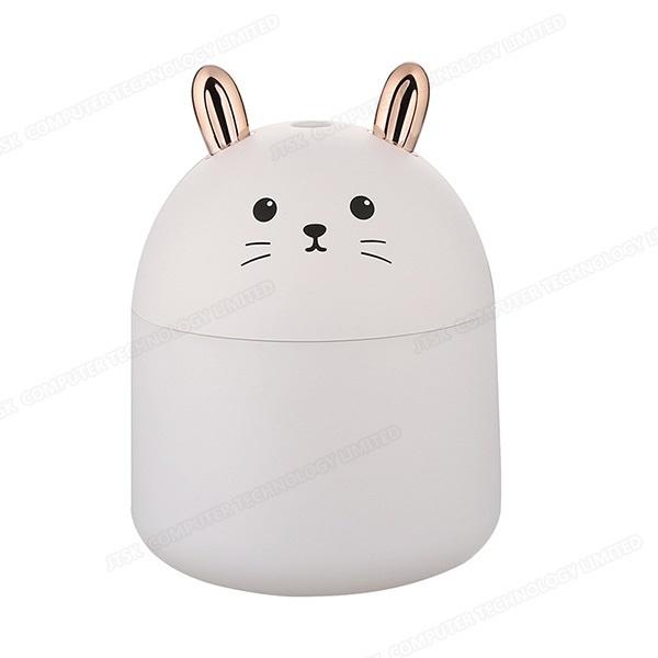 日本JTSK - 靜音萌兔USB空氣噴霧加濕器 家用辦公室空氣加濕