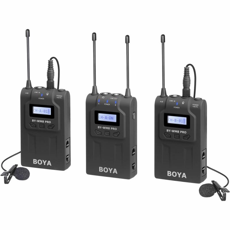 BOYA BY-WM8 PRO K2 雙通道無線收音系統
