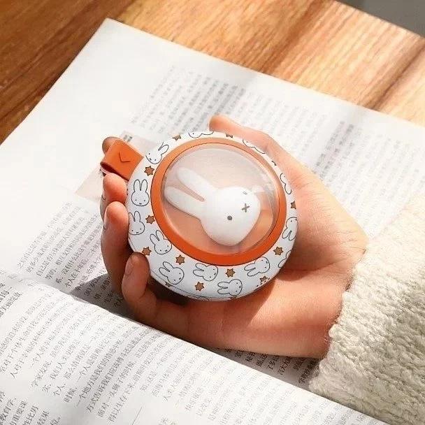 Miffy MM01 暖手蛋流動充電器 5000mAh [2色]