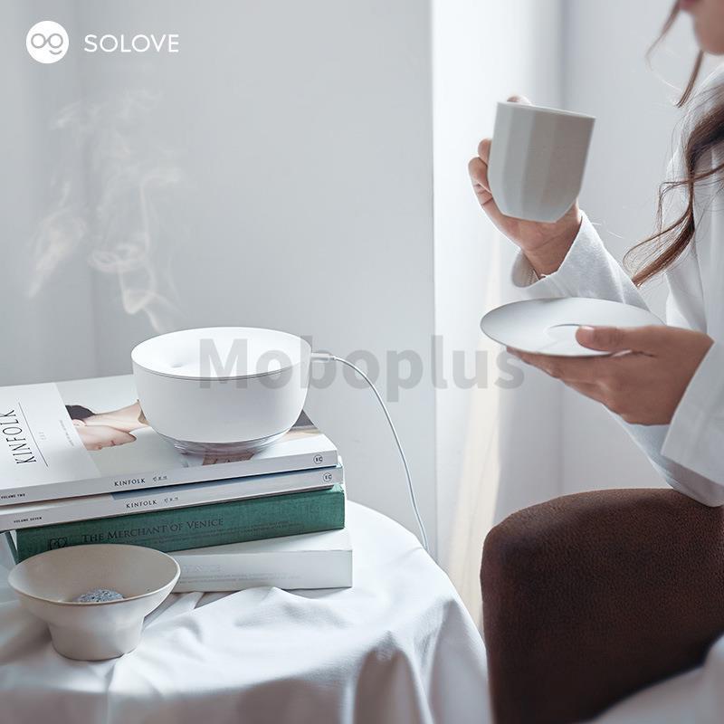 Solove 桌面夜燈加濕器 500ml