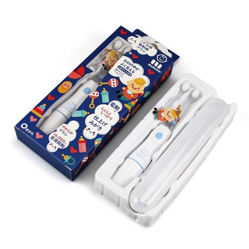 日本製丸大MARUDAI 兒童聲波電動牙刷套裝