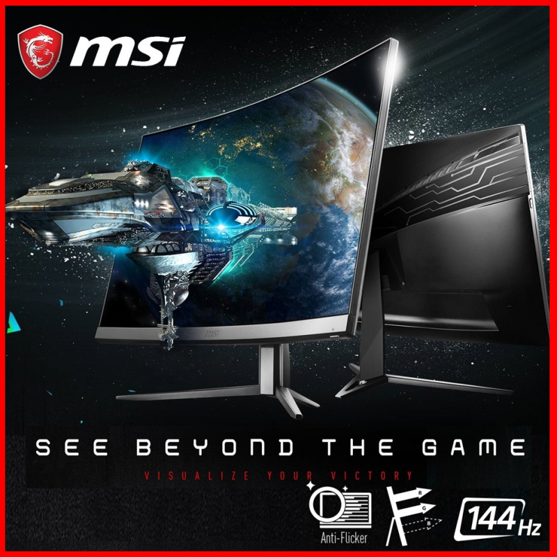 """MSI 24"""" 曲面電競顯示器 G24C6"""